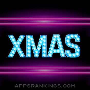 Neon Merry Xmas Stickers app overview, reviews and download