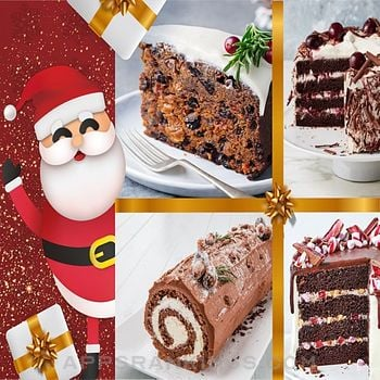 Cake Christmas Recipes app overview, reviews and download