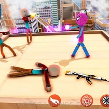 Amazing Rope Stickman Warriors iphone images