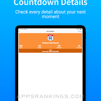 AppyRex Event Countdowns Pro Ipad Images