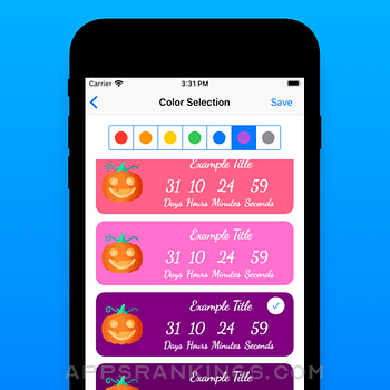 AppyRex Event Countdowns Pro iphone images