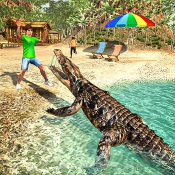 Angry Crocodile Scary Attack app overview, reviews and download