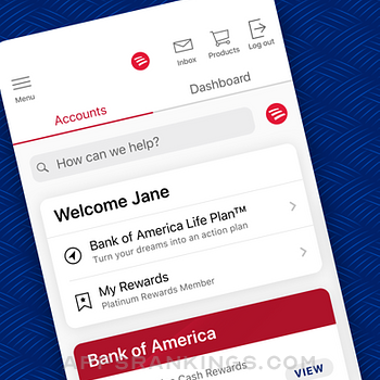Bank of America Mobile Banking iphone images
