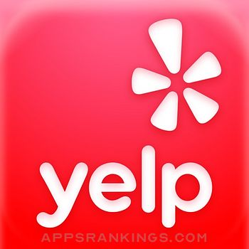 Yelp Food, Delivery & Services Logo