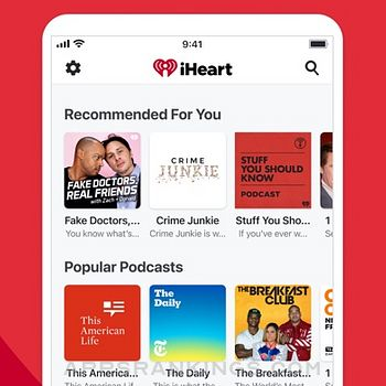 iHeart: Radio, Music, Podcasts iphone images