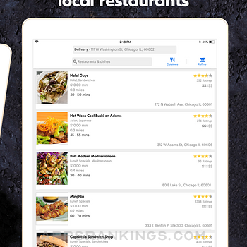 Grubhub: Local Food Delivery Ipad Images