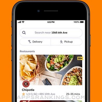 Grubhub: Local Food Delivery iphone images