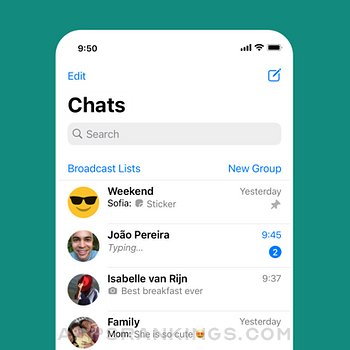 WhatsApp Messenger iphone images