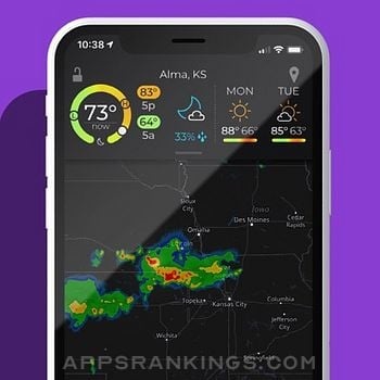 MyRadar Weather Radar Pro iphone images