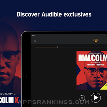 Audible audio books & podcasts Ipad Images