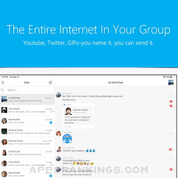 GroupMe Ipad Images