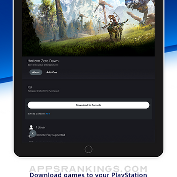 PlayStation App Ipad Images