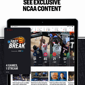 NCAA March Madness Live Ipad Images