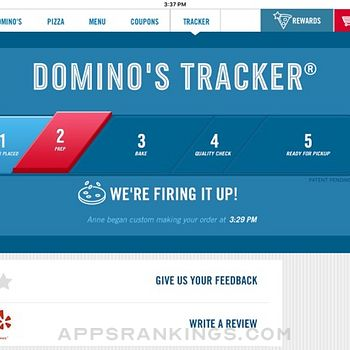 Domino's Pizza USA Ipad Images