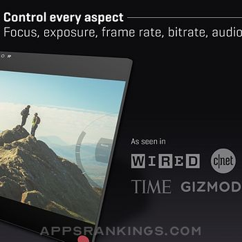 FiLMiC Pro-Video Camera Ipad Images