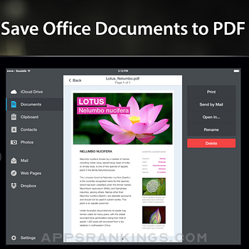 PDF Converter by Readdle Ipad Images