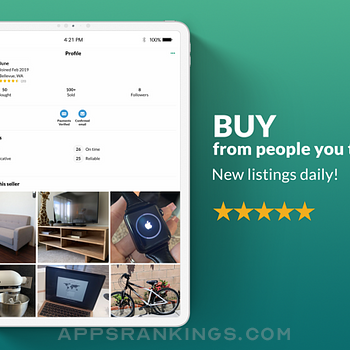 OfferUp - Buy. Sell. Letgo. Ipad Images