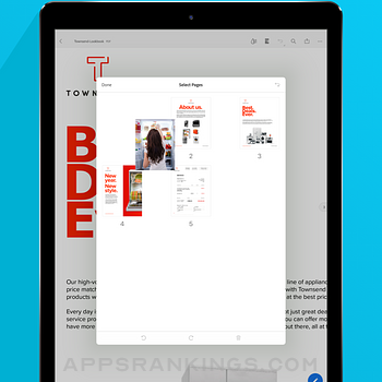 Adobe Acrobat Reader for PDF Ipad Images