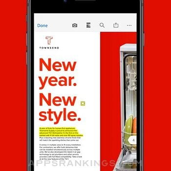 Adobe Acrobat Reader for PDF iphone images