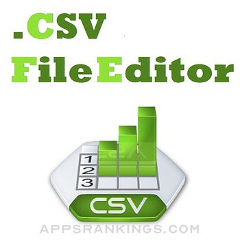 Csv File Editor with Import Option from Excel .xls, .xlsx, .xml Files app reviews and download