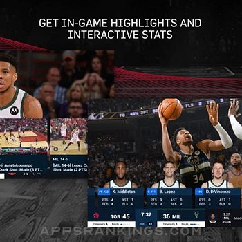 NBA: Live Games & Scores Ipad Images