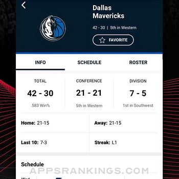 NBA: Live Games & Scores iphone images