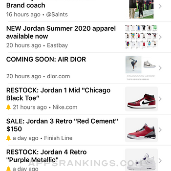 J23 - Release Dates & Restocks iphone images