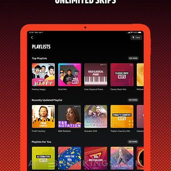 Amazon Music: Songs & Podcasts Ipad Images