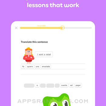 Duolingo - Language Lessons Ipad Images