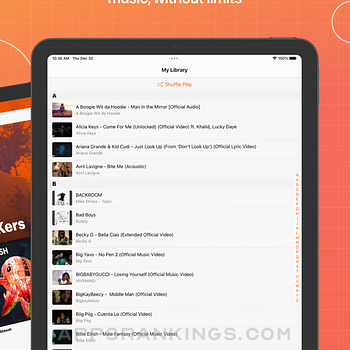 Musi - Simple Music Streaming Ipad Images