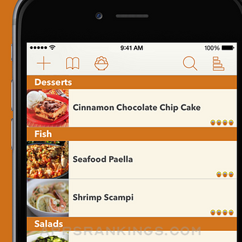 Recipe Gallery iphone images