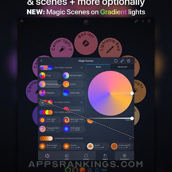 iConnectHue for Philips Hue Ipad Images