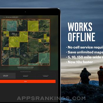 onX Hunt: #1 GPS Hunting Map Ipad Images