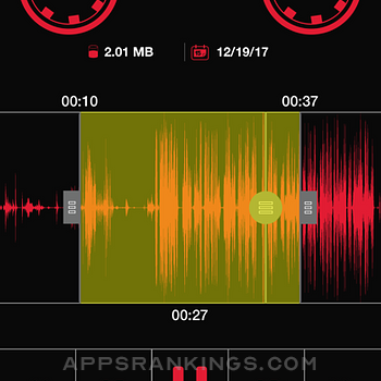 Recorder Lite: Voice Recording iphone images