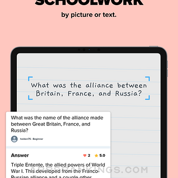 Brainly – Homework Help App Ipad Images