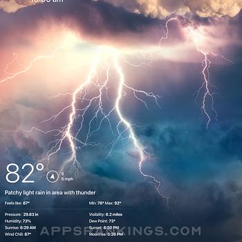 Weather Live° Ipad Images