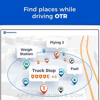 Trucker Path: Truck GPS & Maps Ipad Images