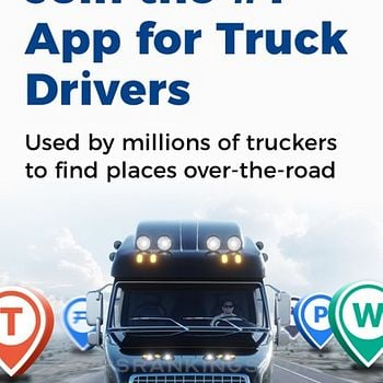 Trucker Path: Truck GPS & Maps iphone images