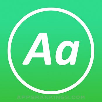 AnyFont app overview, reviews and download