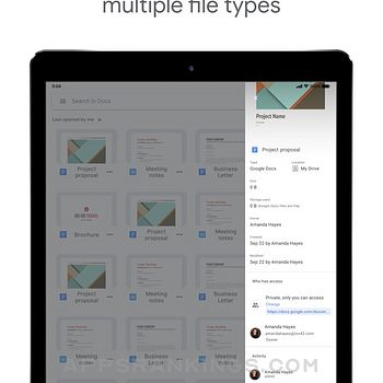 Google Docs: Sync, Edit, Share Ipad Images
