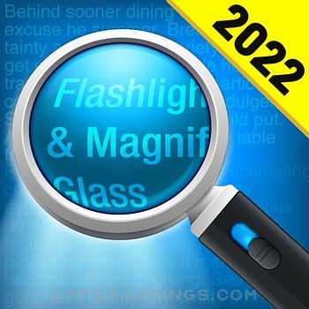 Magnifying Glass + Flashlight app reviews and download