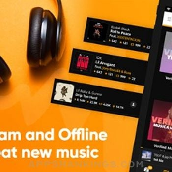 Audiomack-New Music, Save Data iphone images