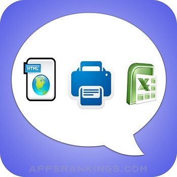Export Messages - Save Print Backup Recover Text SMS iMessages app reviews and download