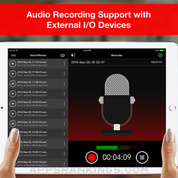 Voice Recorder Lite: Record HD Ipad Images