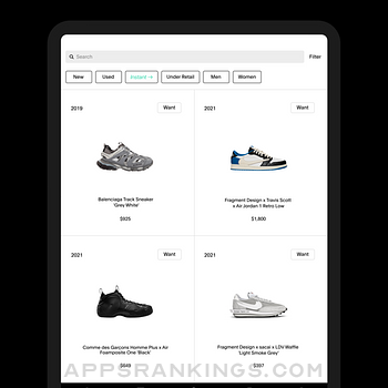 GOAT – Sneakers & Apparel Ipad Images
