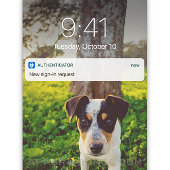 Microsoft Authenticator iphone images