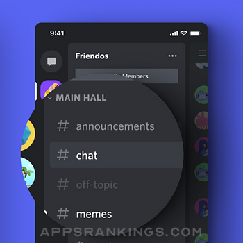 Discord - Talk, Chat, Hang Out iphone images